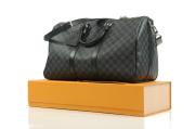 Louis Vuitton Keepall 45 Bandoulière Damier Graphite