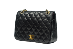 CHANEL FULL FLAP QUILTED LAMBSKIN