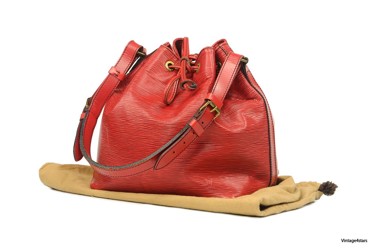 Louis Vuitton Noé Epi Red 1