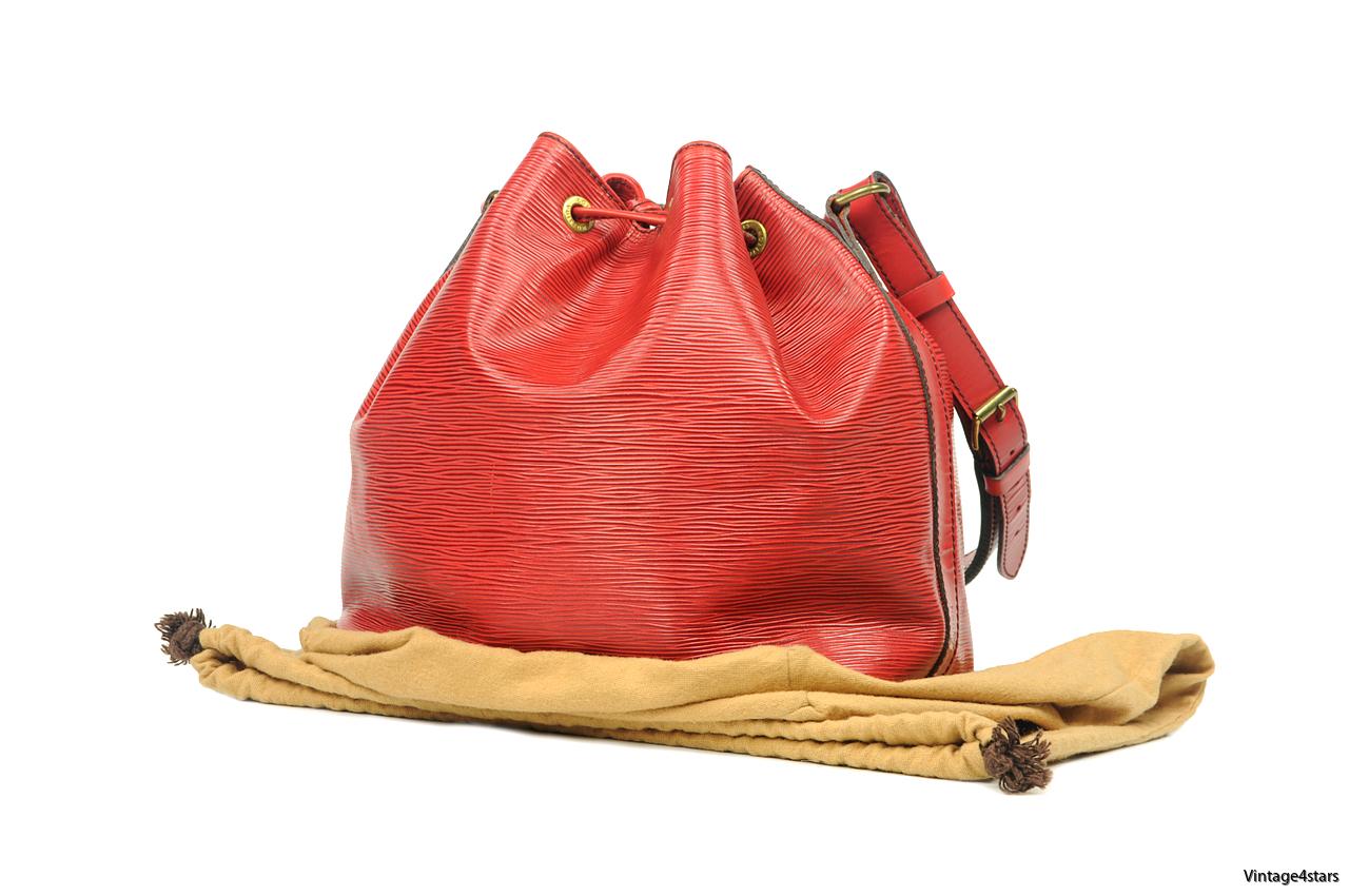 Louis Vuitton Noé Epi Red