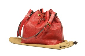 Louis Vuitton Noé Epi Red