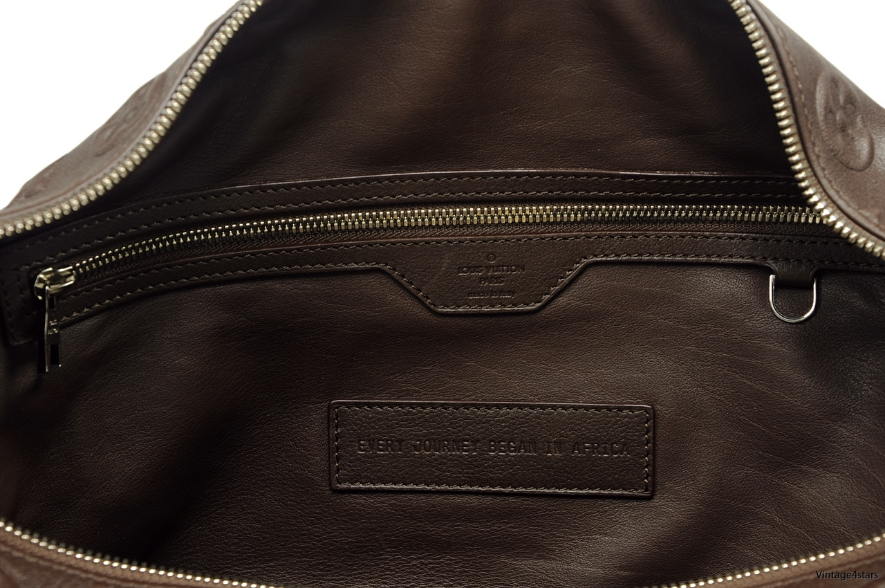 Louis Vuitton Keepall Edun 7