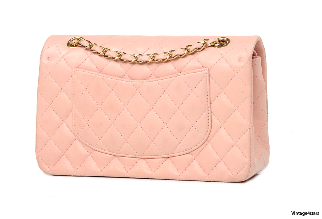 CHANEL DOUBLE FLAP PINK 4