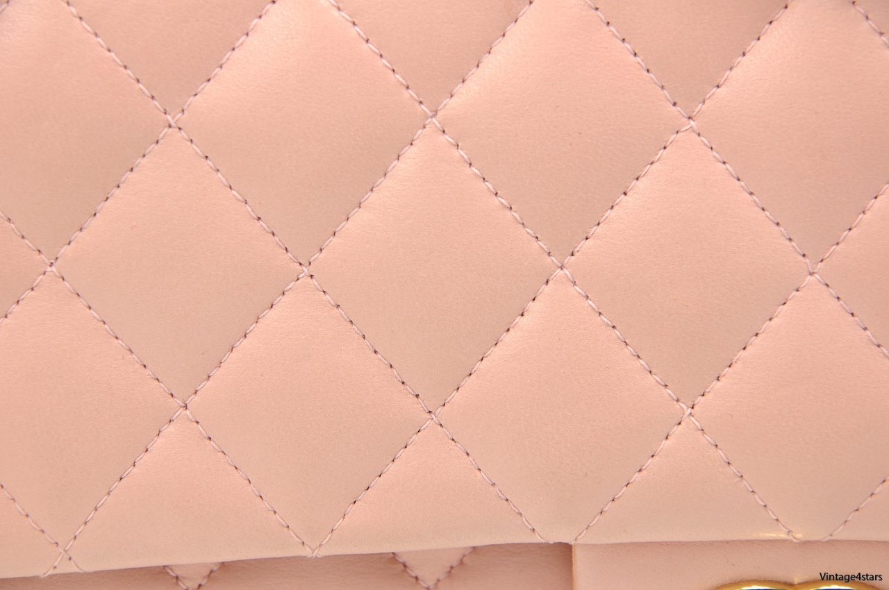 CHANEL DOUBLE FLAP PINK 6