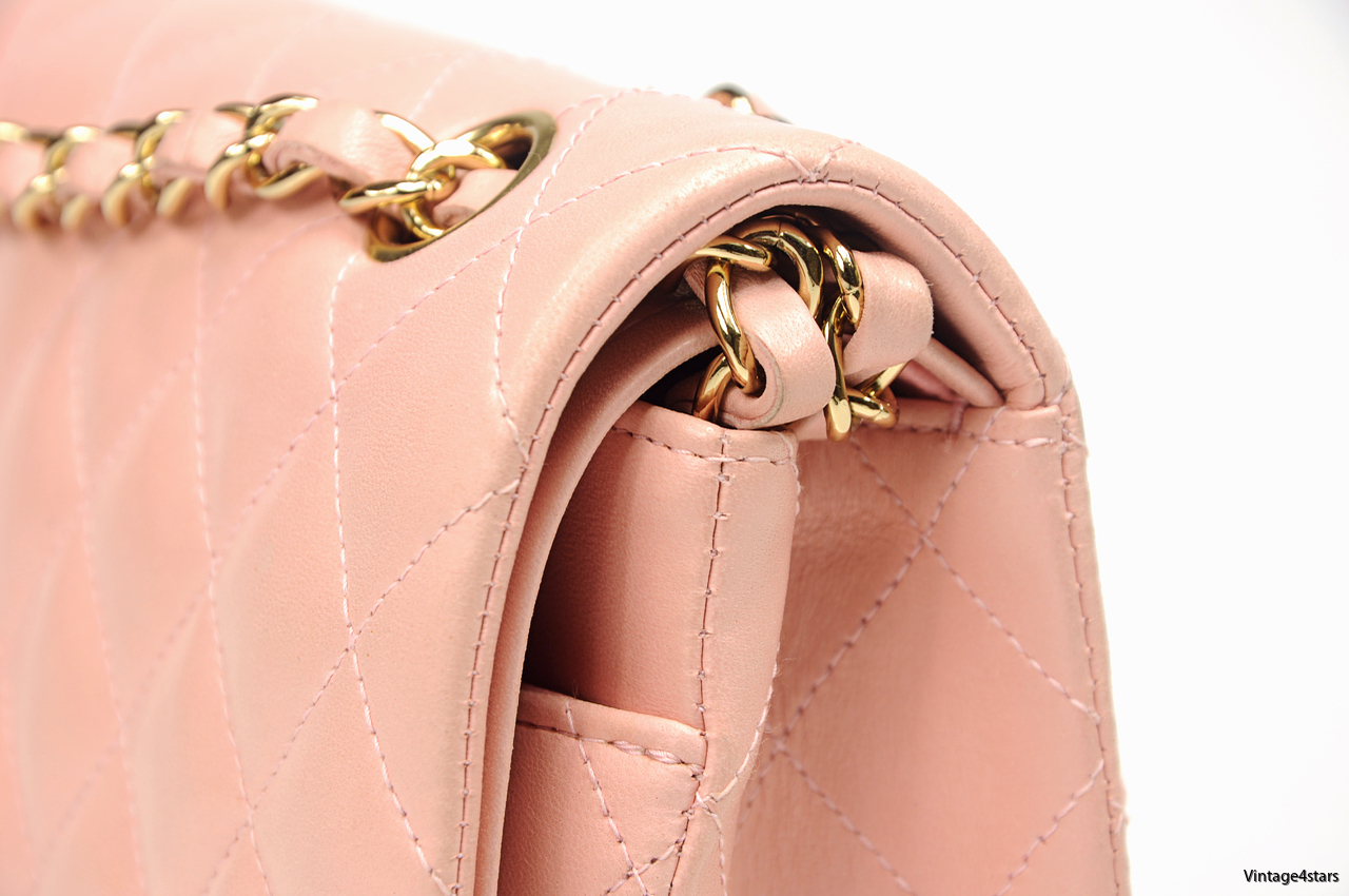 CHANEL DOUBLE FLAP PINK 7