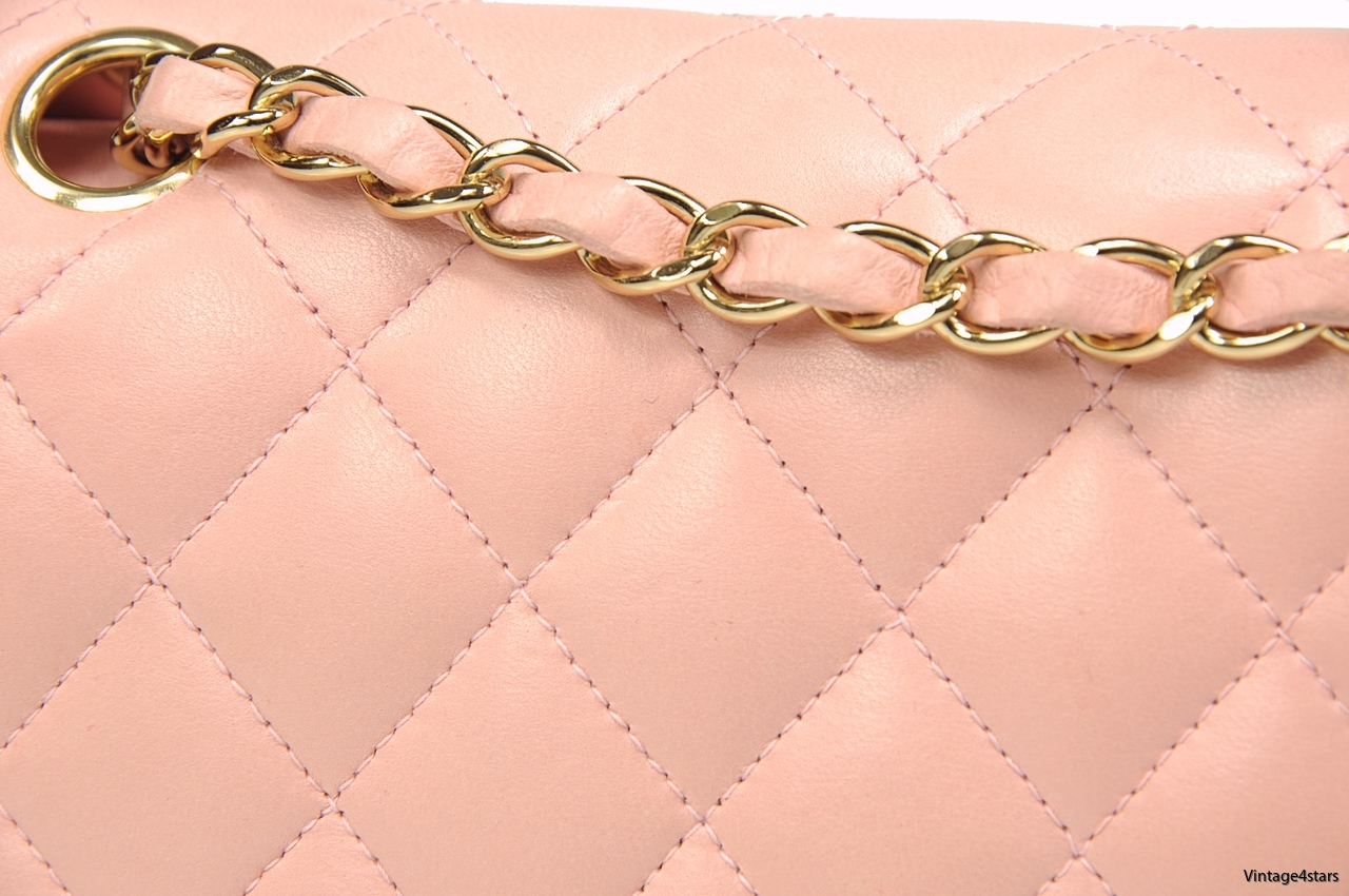 CHANEL DOUBLE FLAP PINK 9