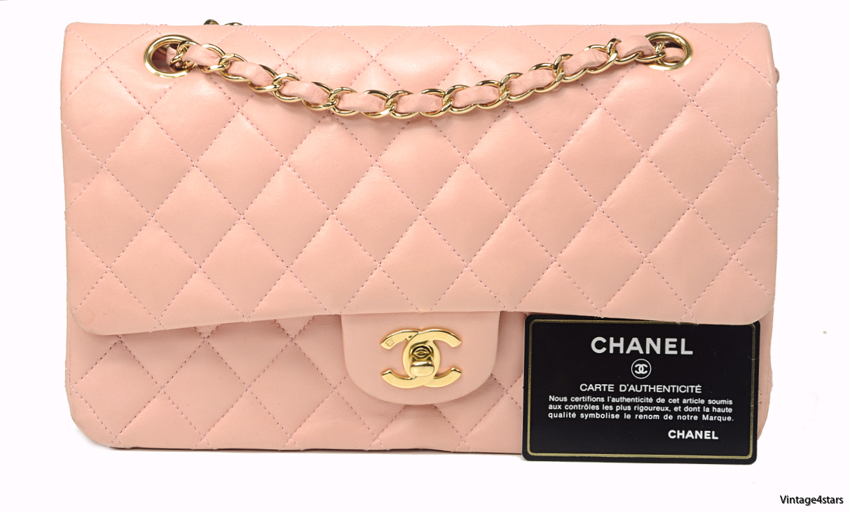 CHANEL DOUBLE FLAP PINK 11