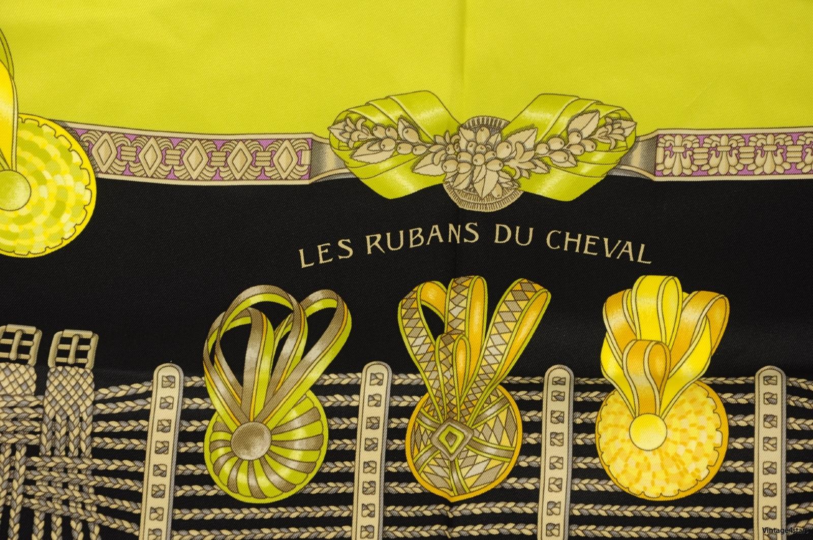 HERMÈS LES RUBANS DU CHEVAL 3