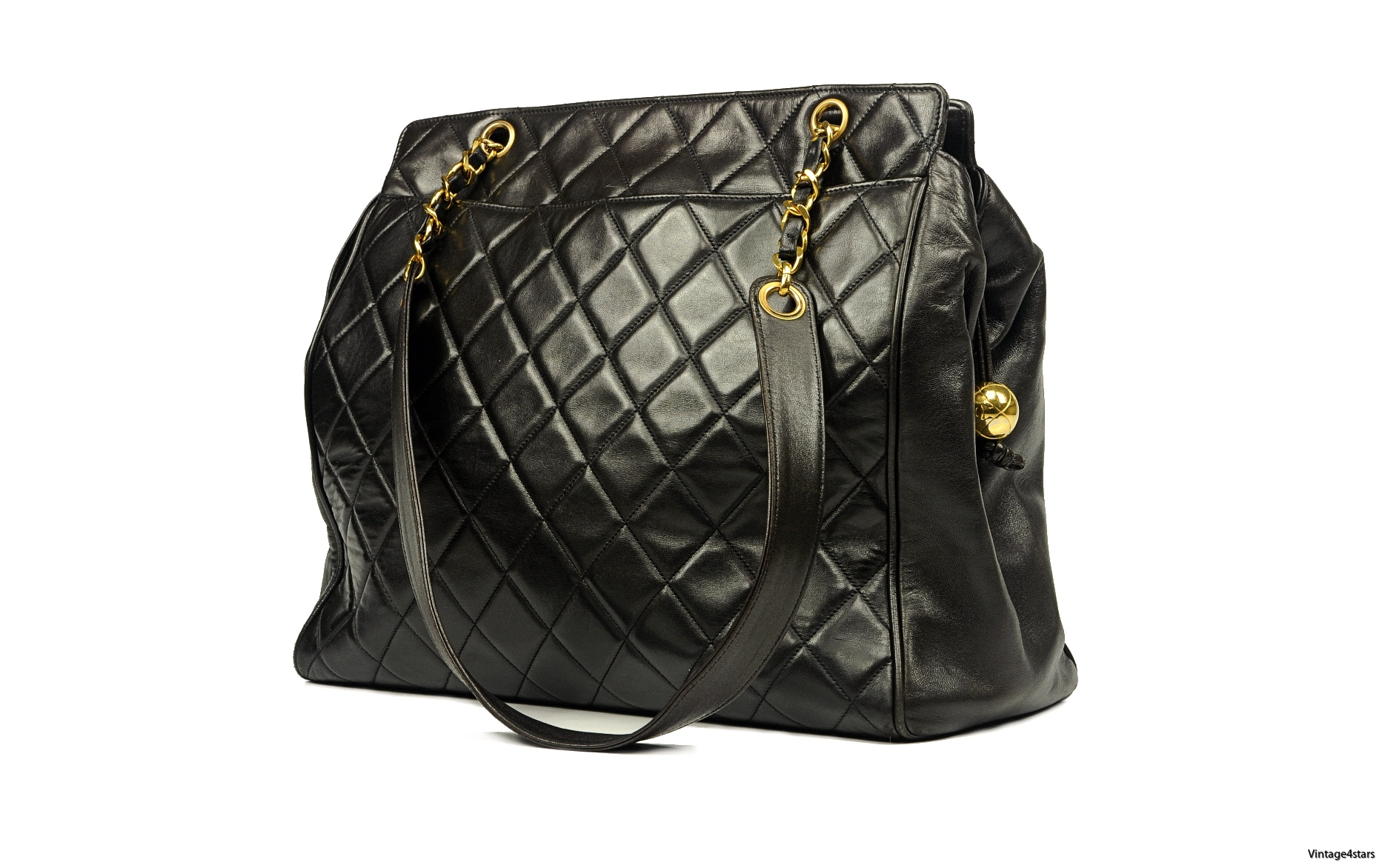 CHANEL QUILTED LARGE TOTE 01