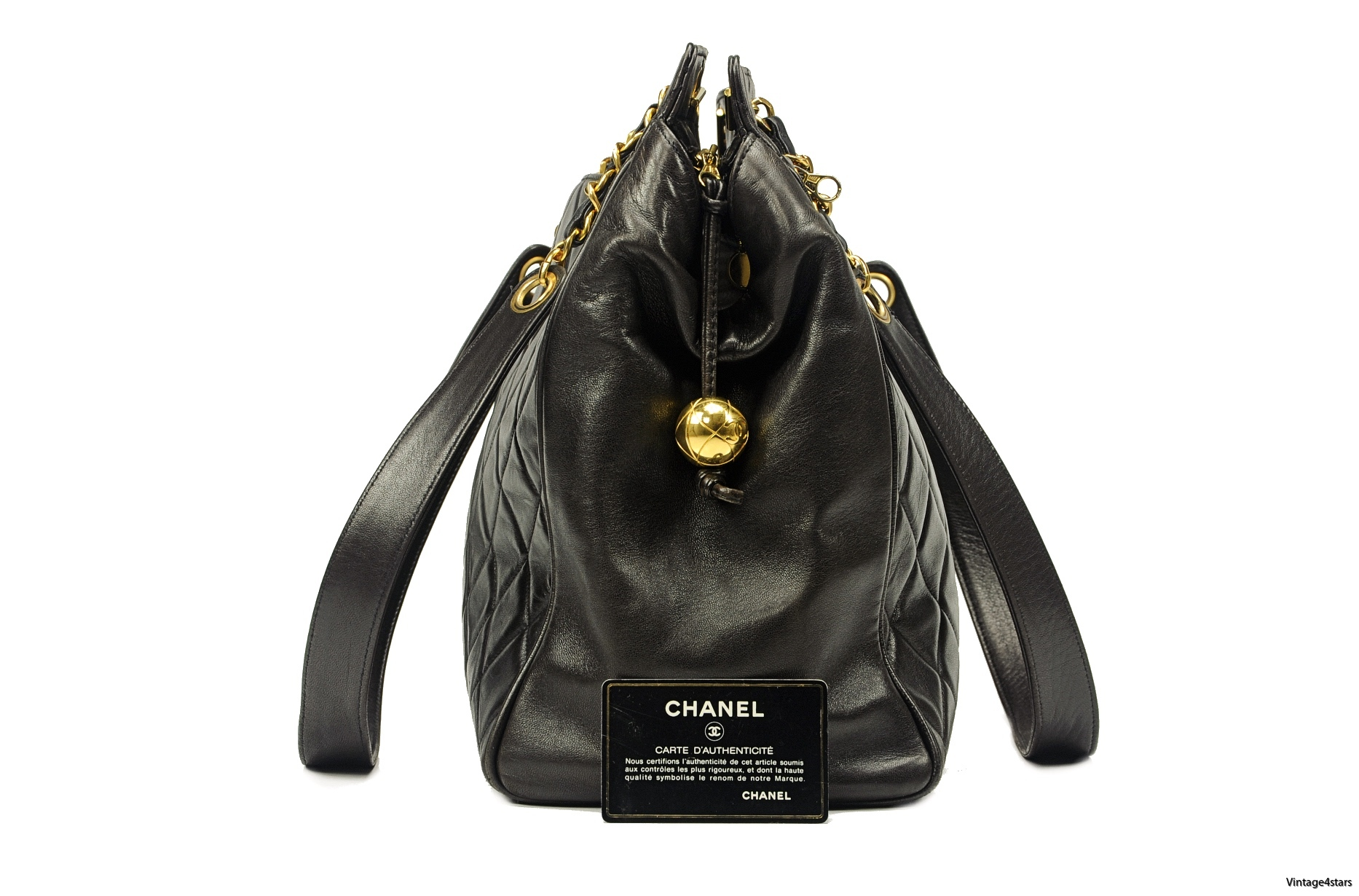 CHANEL QUILTED LARGE TOTE 02