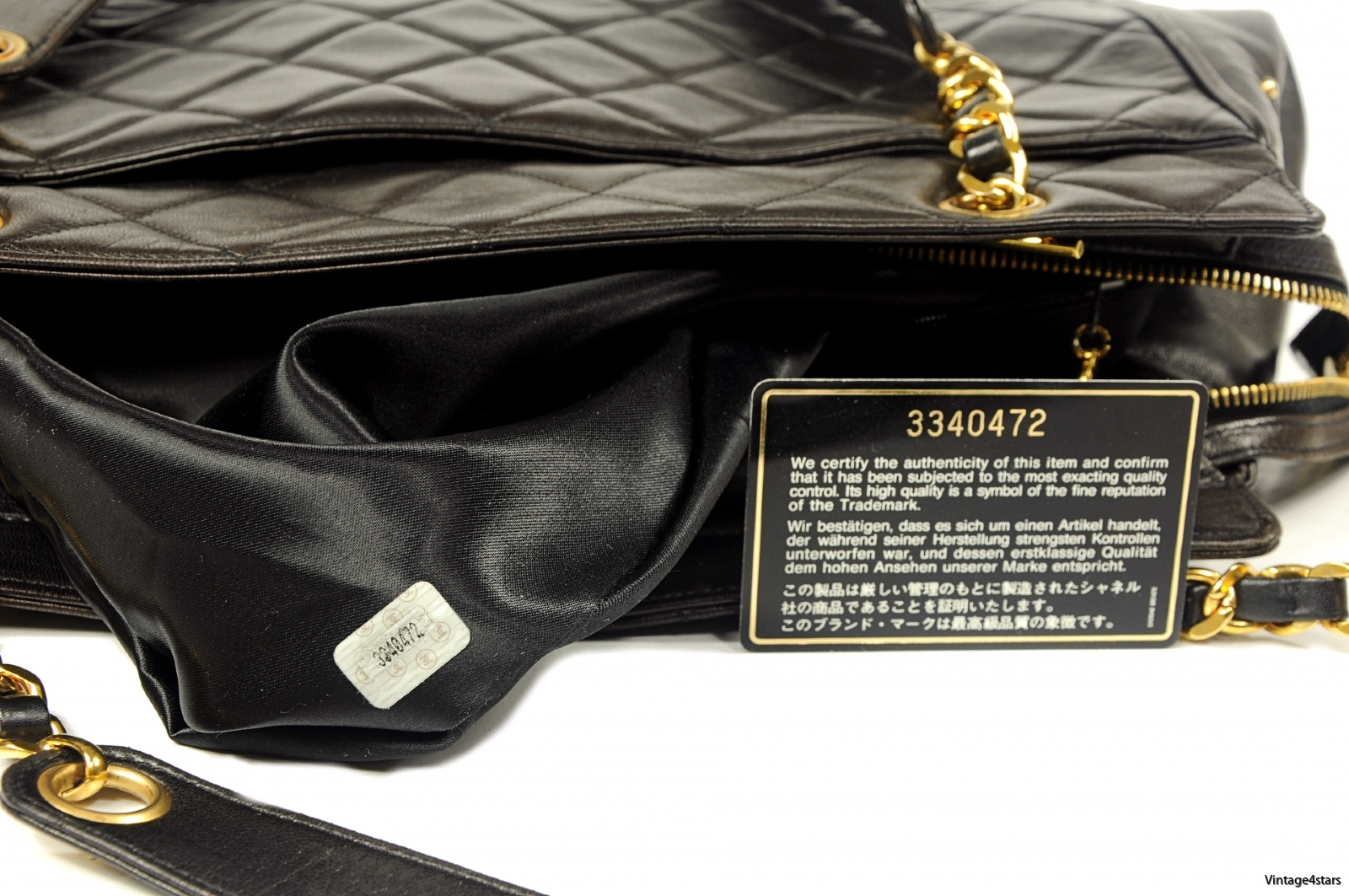CHANEL QUILTED LARGE TOTE 12