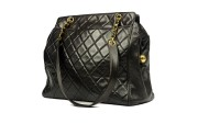 CHANEL QUILTED TOTE MATELASSE