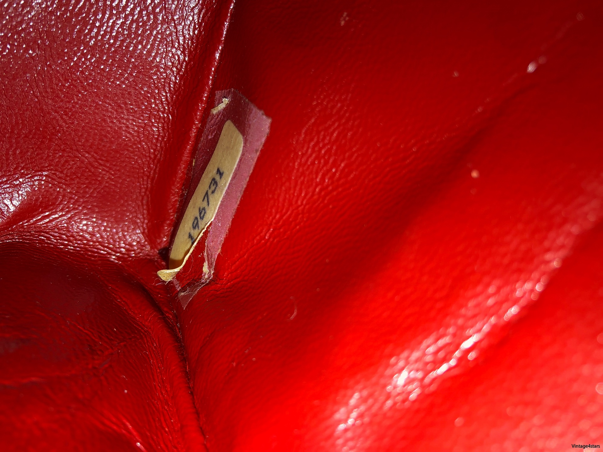 CHANEL Double Flap red 18
