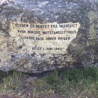 Slutgiltig inskription på stenens baksida.