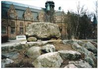 Bild från platsen innan restaurangen utbyggdes. Foto  Norskt veteranmuseum, Furudal