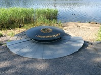 FN-monumentet. Foto Mats Wallenius