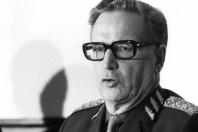 Lennart Ljung, Sveriges Överbefälhavare 1978-1986. Foto Bertil Ericson.