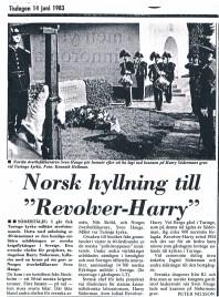 Artikel från Länstidningen den 14 juni 1983.