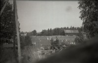 Bild på ett av närliggan övningsområden vid Mauritzberg sommaren 1944. Bild Erlend Grøstad