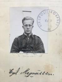 Bild på Egil Magnussen 1944.