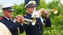 Trumpetarna Göran Kennmark och Nils-Åke Nilsson. Bild Juha Lipsanen.
