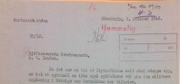 Utdrag ur ett brev från militärattachén H P Henriksen som visar att det under hösten 1943, innan Mauritzberg var utsett, framhöll vikten av att utbilda sjöfolk.