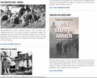 På www.norgestack.se finns bland annat boken Den glömda armén att ladda ner gratis.