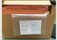 En av de arkivmappar som har identifierats.