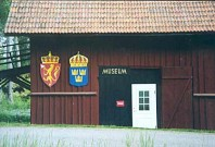 Norskt veteranmuseum i Furudal bruk.