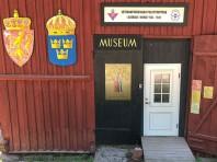 Minnessten och museum i Furudals bruk.