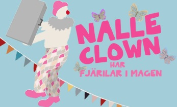 Nalle Clown Butterfly poster