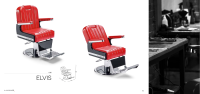Luxus Barber Chair ELVIS Made in Europe
