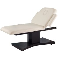 Spa Massageliege Wenge/Latte mit 1 Motor