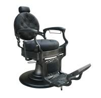 Barber Chair Wayne Retro schwarz