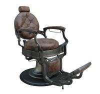 Barber Chair Wayne Retro braun