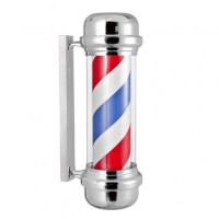 Barber Pole med ljus/rotating, för både inomhus och utomhus
