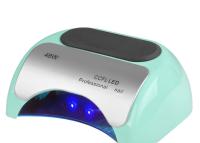 48W UV + LED Lampe mit Timer und Sensor + MINT / WEISS / SCHWARZ / SILBER / ROSA / VIOLETT