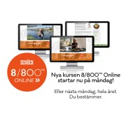 8/800™ ONLINE med Cathrine Schück (8 veckor)