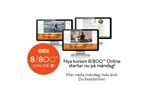 8/800™ ONLINE med Cathrine Schück (8 veckor) - Online-kurs: 8/800™