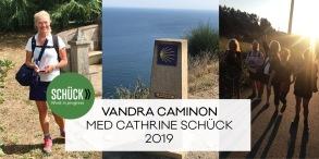 Caminovandring, juni 2019 - Handpenning