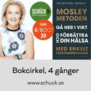 Kurs- Michael Mosleys senaste bok, med fokus på vikt och hälsa - Bokcirkel, Michael Mosleys bok, 4 tillfällen