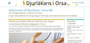 DJURLÄKARN I ORSA