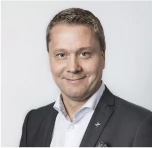Henrik Julin vd på Orkla, ny ordförande för DLF. Foto: DLF