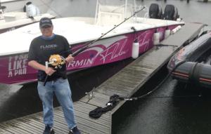 Robban ska fiska blåfend tonfisk för märkning Foto: Hasse Andersson / Sveriges Radio