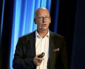 FYLLER FRYSEDISKEN: Coops konsernsjef Geir Inge Stokke sier butikkjedene deres vil satse mer på frosne sjømatprodukter.  FOTO: SILJE HELENE NILSEN