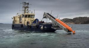 Sjösättning. Bild: Lasse Edwartz