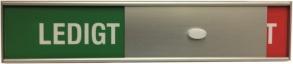 Ledigt/Upptaget - 150x23