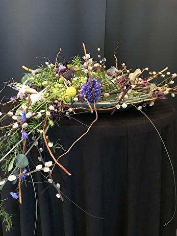Ett Blomsterarrangemang