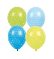 Ballonger Prickiga Blå