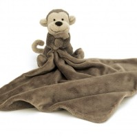 Little Jellycat Bashful Monkey Snuttefilt